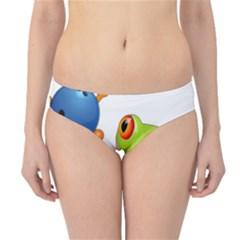Tree Frog Bowler Hipster Bikini Bottoms