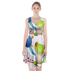 Tree Frog Bowler Racerback Midi Dress