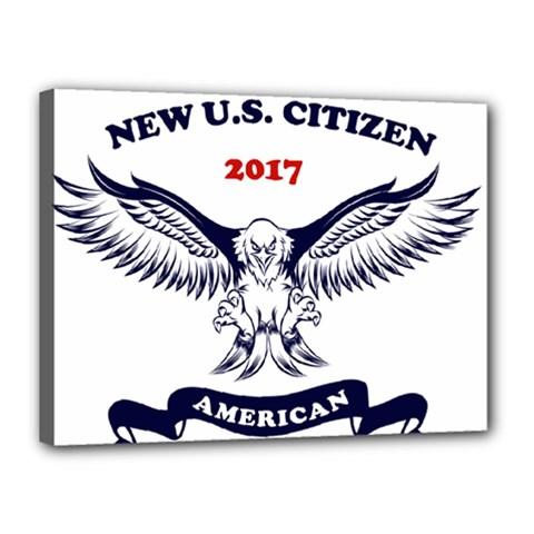 New U S  Citizen Eagle 2017  Canvas 16  X 12