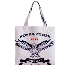 New U S  Citizen Eagle 2017  Zipper Grocery Tote Bag