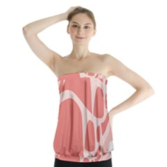 Meat Strapless Top