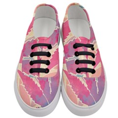 Marijuana Heart Cannabis Rainbow Pink Cloud Women s Classic Low Top Sneakers
