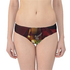 Wonderful Venetian Mask With Floral Elements Hipster Bikini Bottoms