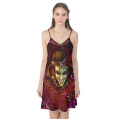 Wonderful Venetian Mask With Floral Elements Camis Nightgown