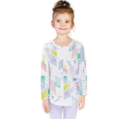 Layer Capital City Building Kids  Long Sleeve Tee