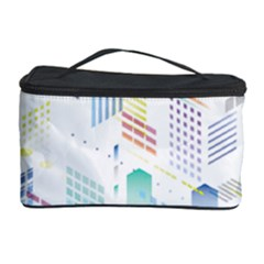 Layer Capital City Building Cosmetic Storage Case