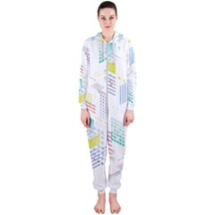 Layer Capital City Building Hooded Jumpsuit (ladies)