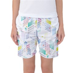Layer Capital City Building Women s Basketball Shorts
