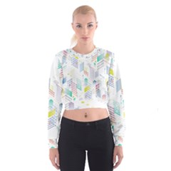 Layer Capital City Building Cropped Sweatshirt