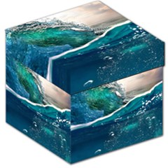 Sea Wave Waves Beach Water Blue Sky Storage Stool 12