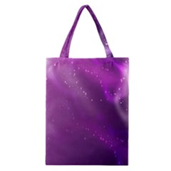 Space Star Planet Galaxy Purple Classic Tote Bag