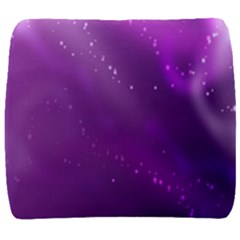 Space Star Planet Galaxy Purple Back Support Cushion