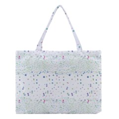 Spot Polka Dots Blue Pink Sexy Medium Tote Bag