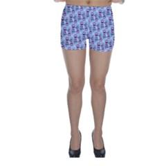 Pattern Kitty Headphones  Skinny Shorts