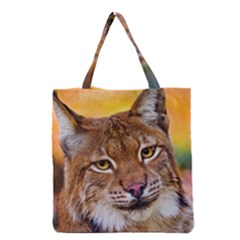 Tiger Beetle Lion Tiger Animals Grocery Tote Bag
