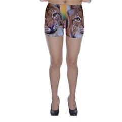 Tiger Beetle Lion Tiger Animals Skinny Shorts