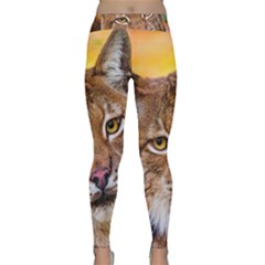 Tiger Beetle Lion Tiger Animals Classic Yoga Leggings