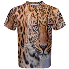 Tiger Beetle Lion Tiger Animals Leopard Men s Cotton Tee