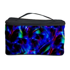Dark Neon Stuff Blue Red Black Rainbow Light Cosmetic Storage Case