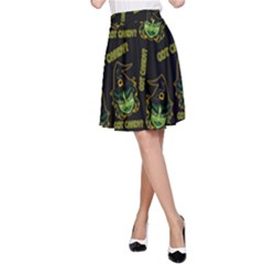 Pattern Halloween Witch Got Candy? Icreate A Line Skirt