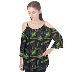 Pattern Halloween Witch Got Candy? Icreate Flutter Tees