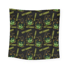 Pattern Halloween Witch Got Candy? Icreate Square Tapestry (small)