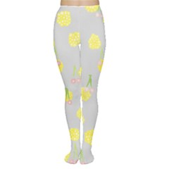 Cute Fruit Cerry Yellow Green Pink Women s Tights