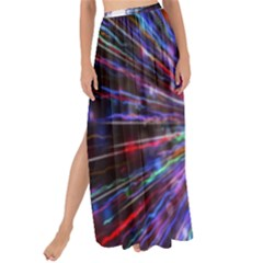 Seamless Animation Of Abstract Colorful Laser Light And Fireworks Rainbow Maxi Chiffon Tie Up Sarong