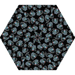 Pattern Halloween Zombies Brains Mini Folding Umbrellas
