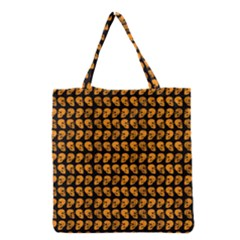 Halloween Color Skull Heads Grocery Tote Bag