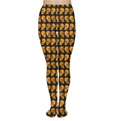 Halloween Color Skull Heads Women s Tights