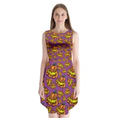 1pattern Halloween Colorfuljack Icreate Sleeveless Chiffon Dress