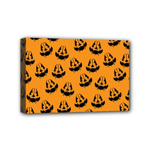Halloween Jackolantern Pumpkins Icreate Mini Canvas 6  X 4