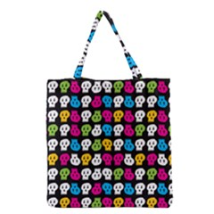 Pattern Painted Skulls Icreate Grocery Tote Bag