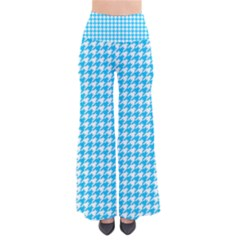 Friendly Houndstooth Pattern,aqua Pants
