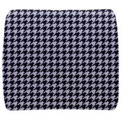 Friendly Houndstooth Pattern,black And White Back Support Cushion