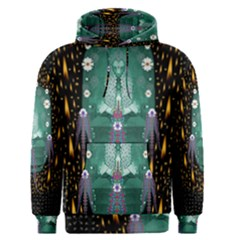 Temple Of Yoga In Light Peace And Human Namaste Style Men s Pullover Hoodie