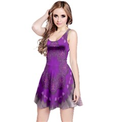 Fantasy Flowers In Harmony  In Lilac Reversible Sleeveless Dress