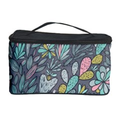 Cactus Pattern Green  Cosmetic Storage Case