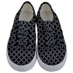 Circles3 Black Marble & Gray Leather Kids  Classic Low Top Sneakers