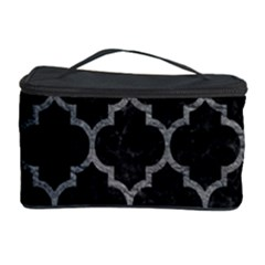 Tile1 Black Marble & Gray Leathertile1 Black Marble & Gray Leather Cosmetic Storage Case