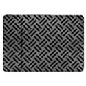 WOVEN2 BLACK MARBLE & GRAY LEATHER (R) Samsung Galaxy Tab 8.9  P7300 Flip Case View1
