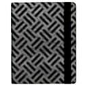 WOVEN2 BLACK MARBLE & GRAY LEATHER (R) Samsung Galaxy Tab 8.9  P7300 Flip Case View2