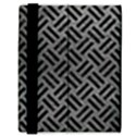 WOVEN2 BLACK MARBLE & GRAY LEATHER (R) Samsung Galaxy Tab 8.9  P7300 Flip Case View3