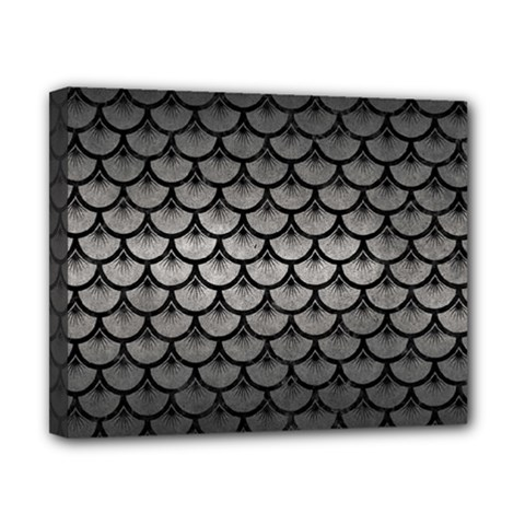 Scales3 Black Marble & Gray Metal 1 (r) Canvas 10  X 8