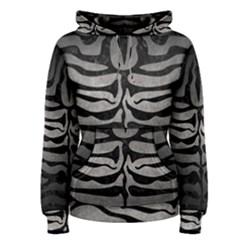 Skin2 Black Marble & Gray Metal 1 (r) Women s Pullover Hoodie