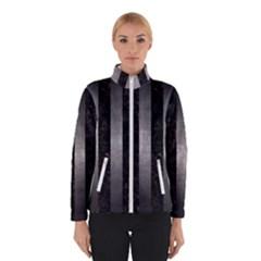 Stripes1 Black Marble & Gray Metal 1 Winterwear