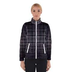 Woven1 Black Marble & Gray Metal 1 Winterwear