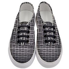 Woven1 Black Marble & Gray Metal 1 (r) Women s Classic Low Top Sneakers