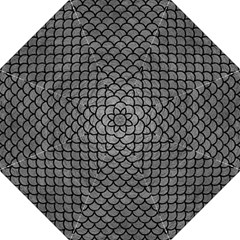 Scales1 Black Marble & Gray Leather (r) Straight Umbrellas